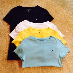 Nautica Like New Bundle 4 Short Sleeve Tees